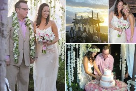 Tom Arnold Releases Wedding Photos to Fans