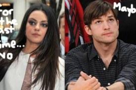 Mila Kunis niega rumores de romance con Ashton