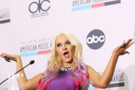 Christina Aguilera nunca usa ropa interior
