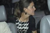 Captan a Kate Middleton sin Panties