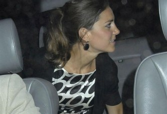 Captan a Kate Middleton sin Panties