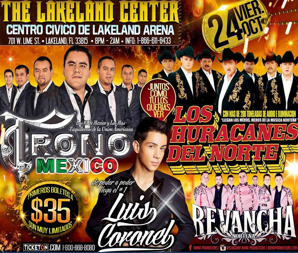 Trono de Mexico @ The Lakeland Center | Lakeland | Florida | United States