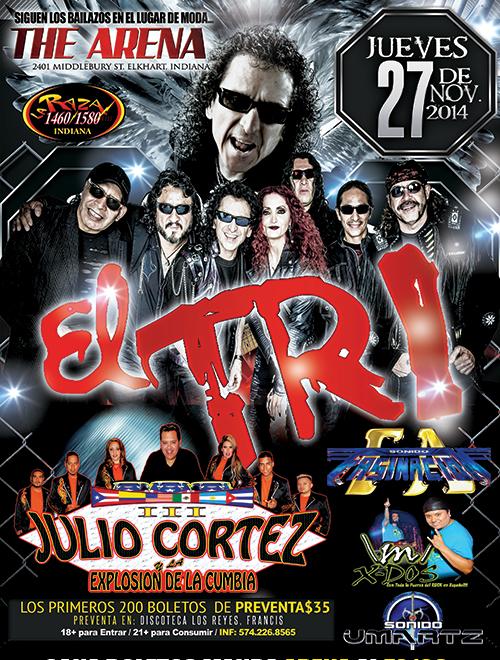 El Tri  de Mexico @ The Arena | Elkhart | Indiana | United States