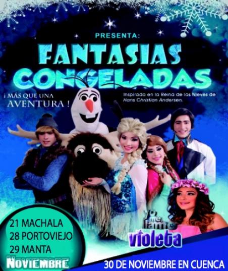 Fantasias Congeladas @ Nuevo Coliseo Tohali | Manta | Manabi | Ecuador