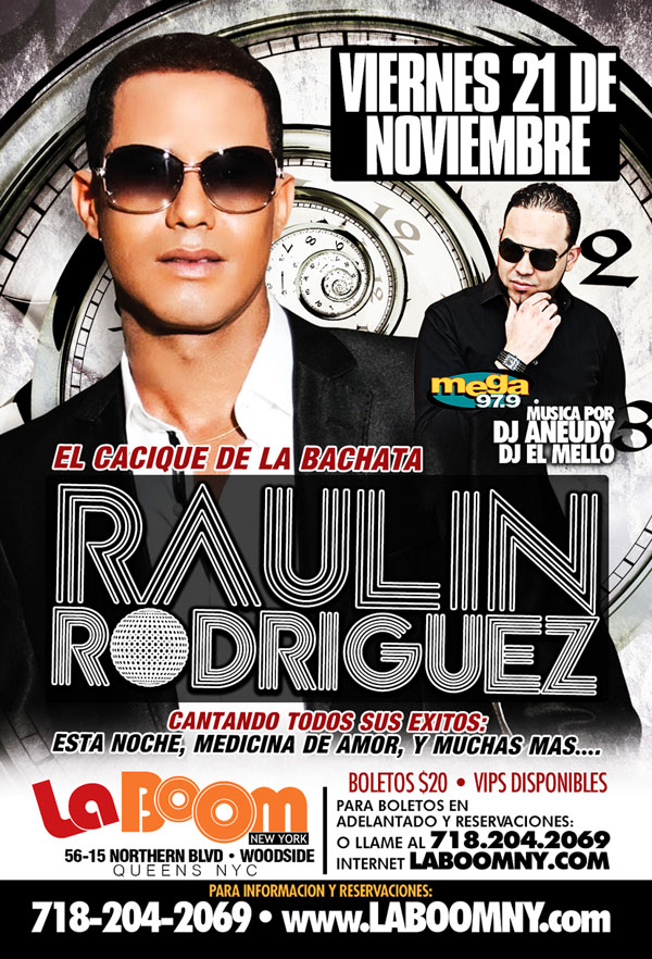 Raulin Rodriguez - NY @ La Boom | New York | United States