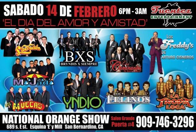El Dia del Amor y Amistad @ National Orange Show   San Bernardino   California   United States