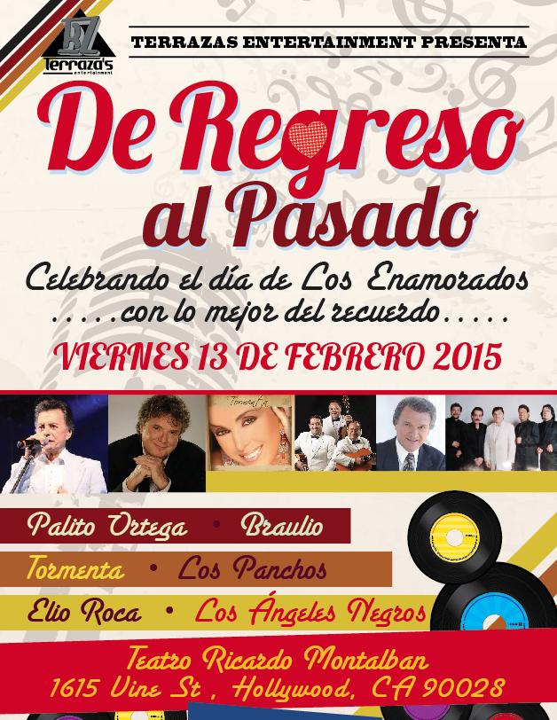 DE REGRESO AL PASADO @ Teatro Ricardo Montalban   Los Angeles   California   United States