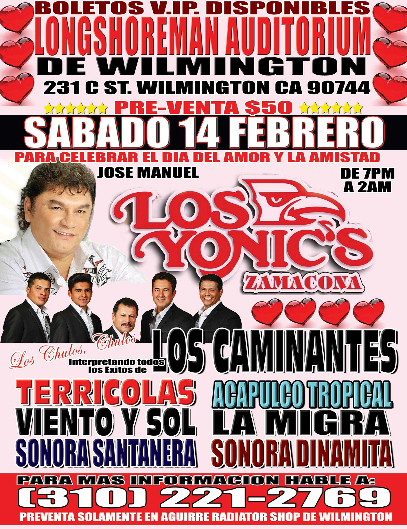 Los Yonics @ Longshoreman Auditorium | Los Angeles | California | United States