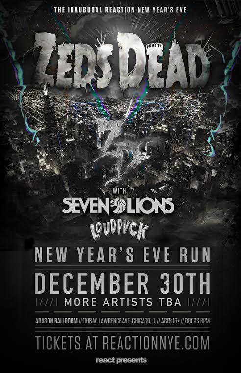 Reaction Dec. 30th – Zeads Dead Night One @ Aragon Entertainment Center