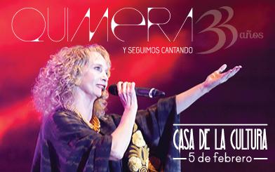 QUIMERA 33 AÑOS Y SEGUIMOS CANTANDO @ Teatro Nacional C.C.E | Distrito Metropolitano de Quito | Pichincha | Ecuador