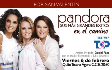 PANDORA @ Teatro Agora CCE | Quito | Pichincha | Ecuador