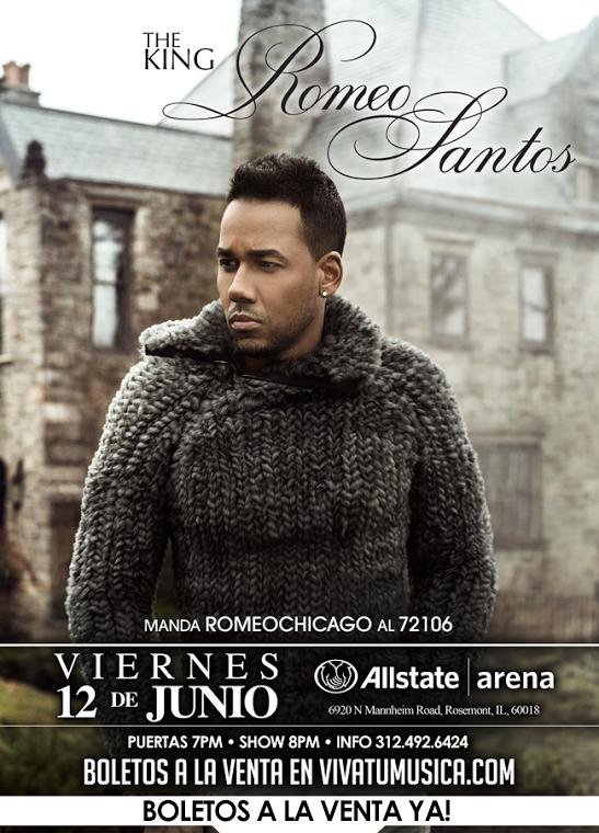 Romeo Santos  tour 2015 @ Allstate Arena | Rosemont | Illinois | United States