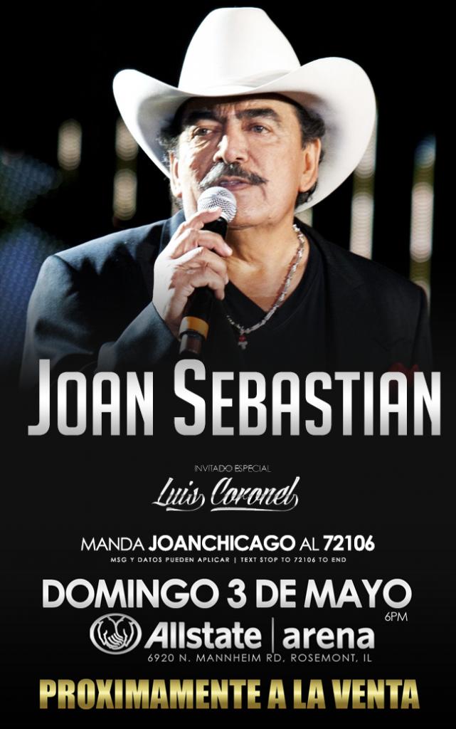 Joan Sebastian - Chicago @ Allstate Arena