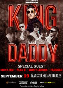 KING DADDY @ Madison Square Garden | New York | New York | Estados Unidos