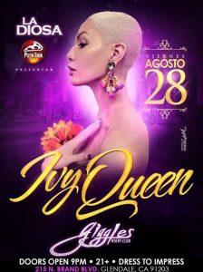Ivy Queen @ Giggles Night Club | Glendale | California | Estados Unidos