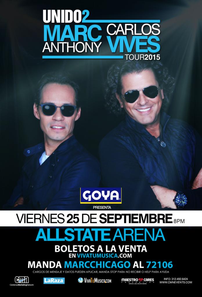 Marc Anthony y Carlos Vives @ Allstate Arena | Rosemont | Illinois | Estados Unidos
