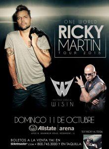 Ricky Martin @ Allstate Arena | Rosemont | Illinois | Estados Unidos