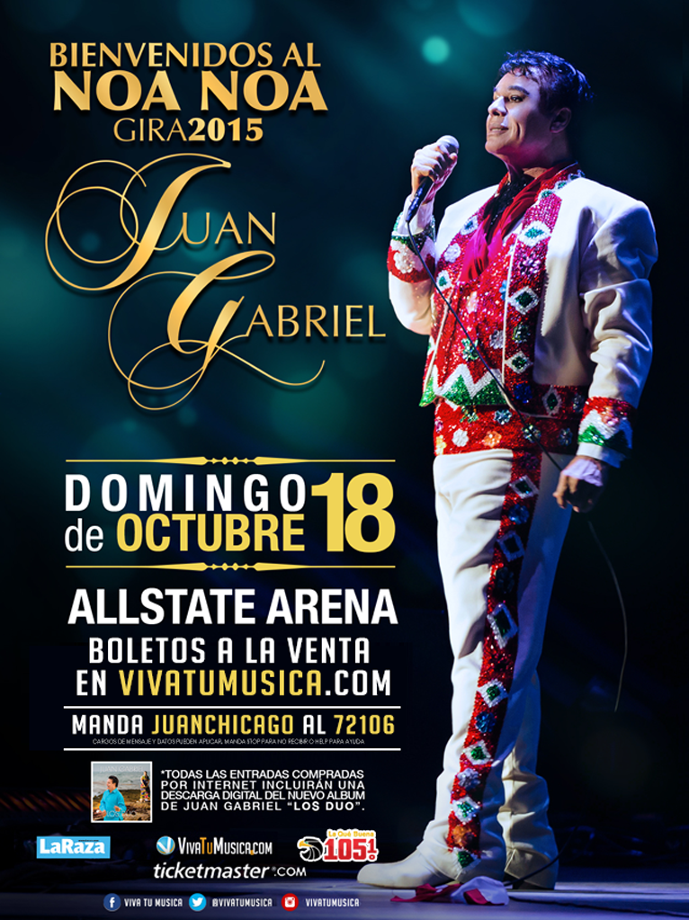 Juan Gabriel @ Allstate Arena