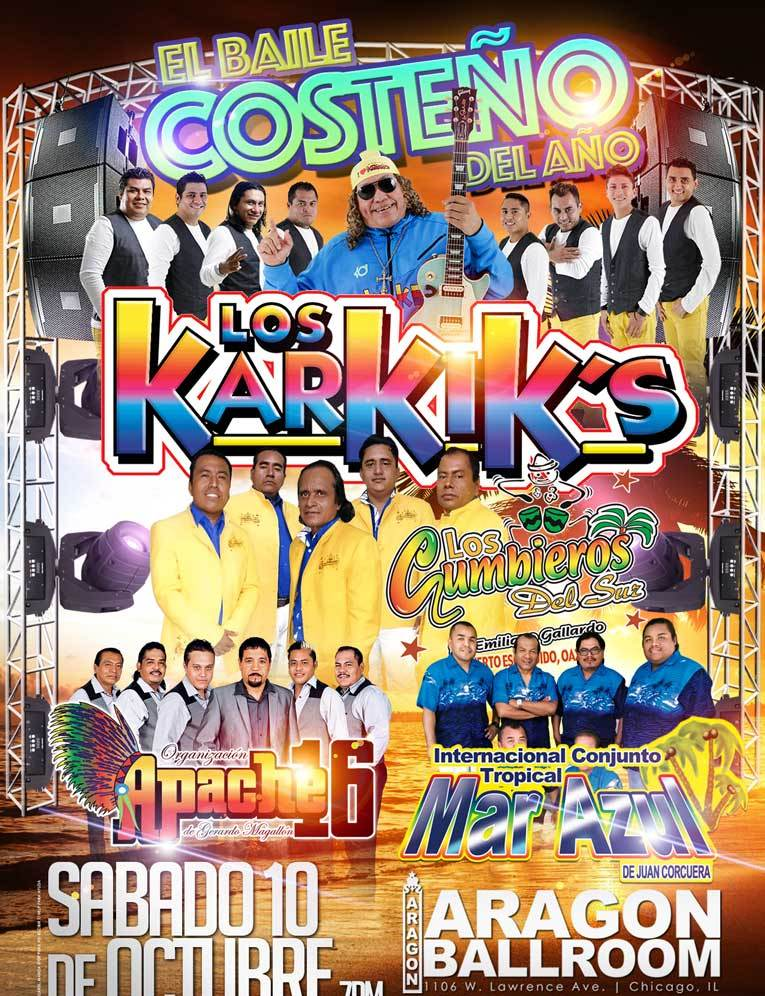 Los Karkik's @ Aragon Entertainment Center