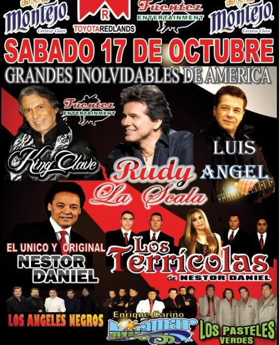 KING CLAVE,RUDY LA SCALA,LUIS ANGEL @ The Orange Show San Bernardino | San Bernardino | California | Estados Unidos