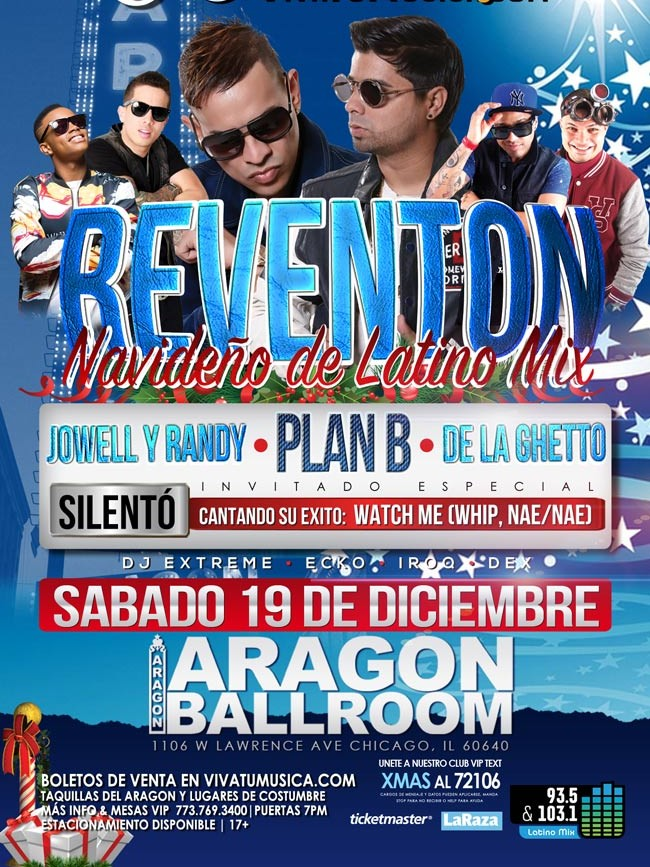 Reventon Navideño @ Aragon Entertainment Center | Chicago | Illinois | United States