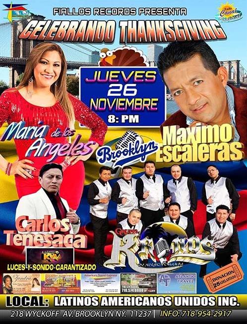 MAXIMO ESCALERAS- MARIA DE LOS ANGELES-CARLOS TENESACA @ Latinos Americanos Unidos Inc   Wyckoff   New Jersey   United States