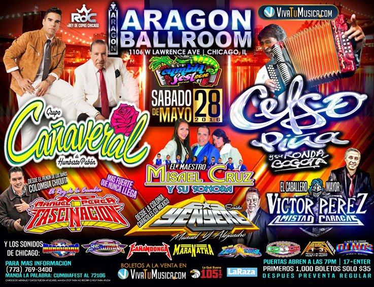 Cumbia Fest 2016 @ Aragon Entertainment Center