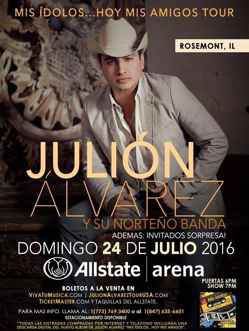 Julion Alvarez @ Allstate Arena