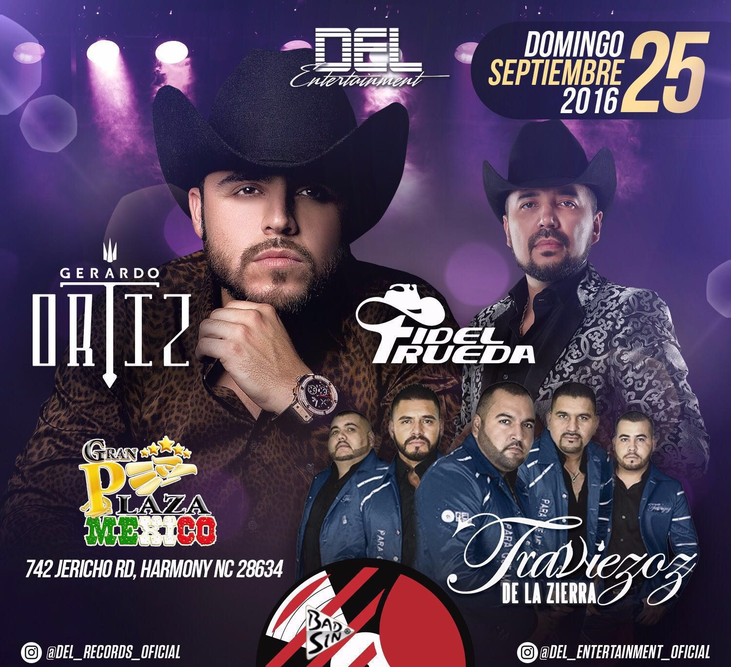 GERARDO ORTIZ @ Gran Plaza Mexico | Harmony | North Carolina | United States