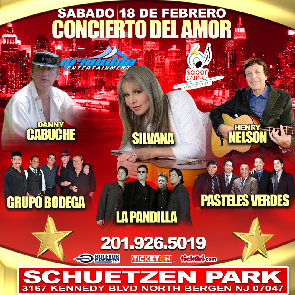 CONCIERTO DEL AMOR EN NORTH BERGEN.NJ @ SCHUETZEN PARK BUNQUET HALL | North Bergen | New Jersey | United States
