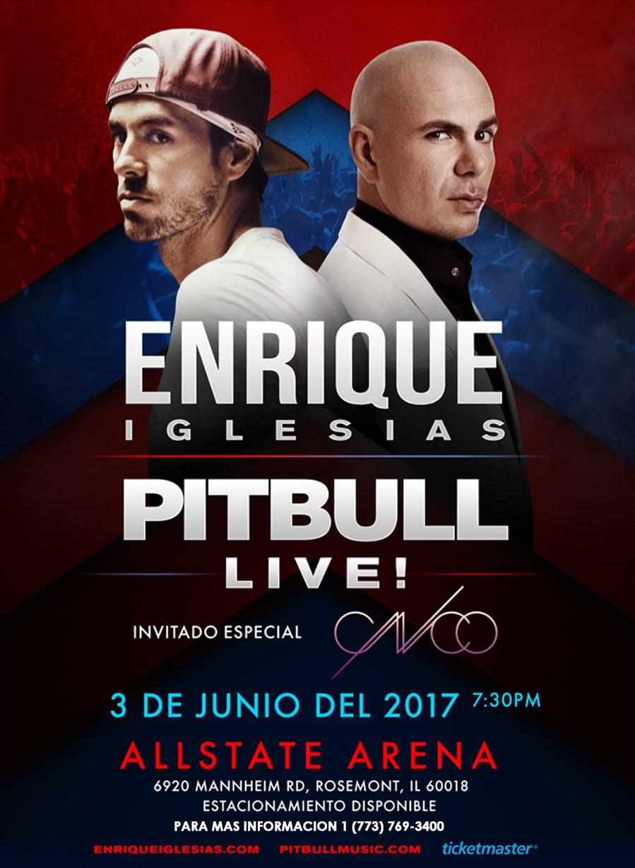 Enrique Iglesias | Pitbull | CNCO - Tour Chicago @ Allstate Arena
