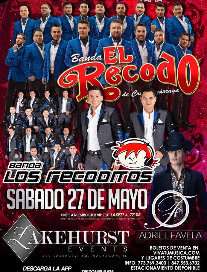 Banda El Recodo- Tour USA 2017 @ Lakehurst Events Center | Waukegan | Illinois | United States