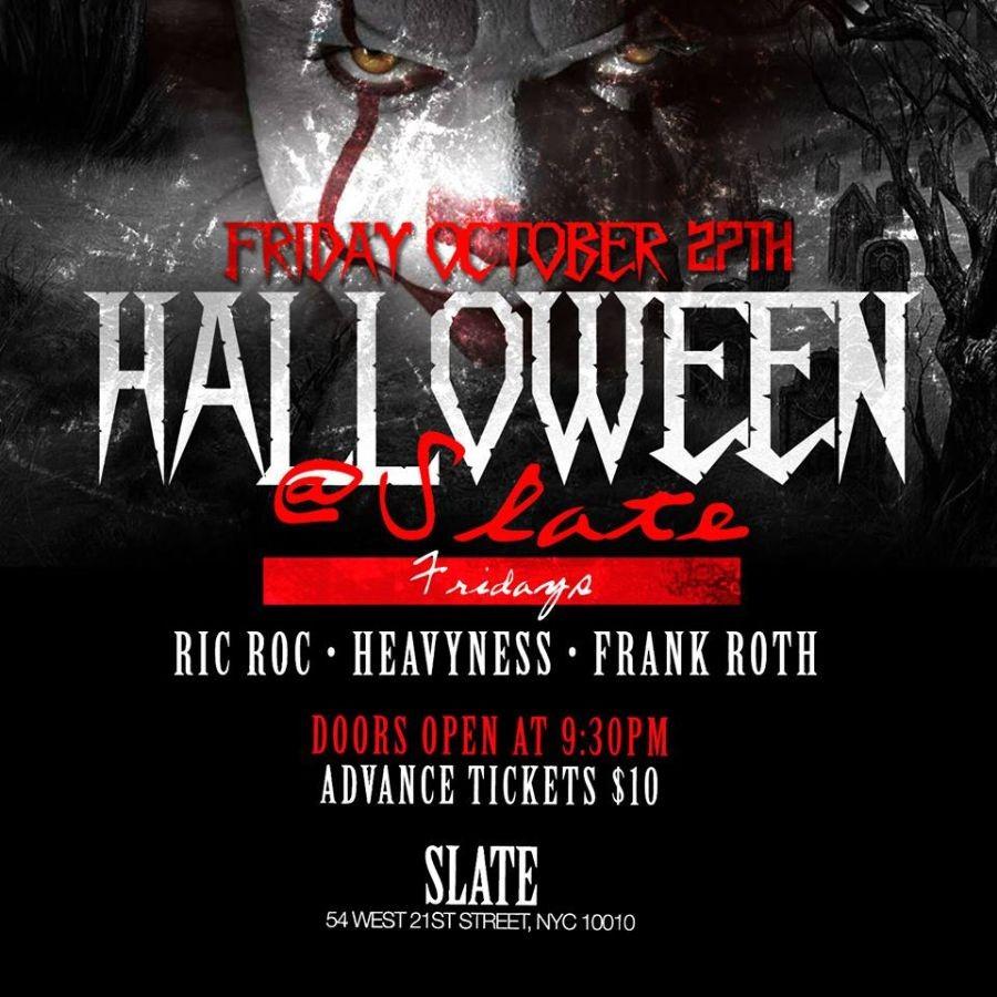 Slate Halloween Party At Slate @ Slate NY  | New York | New York | United States