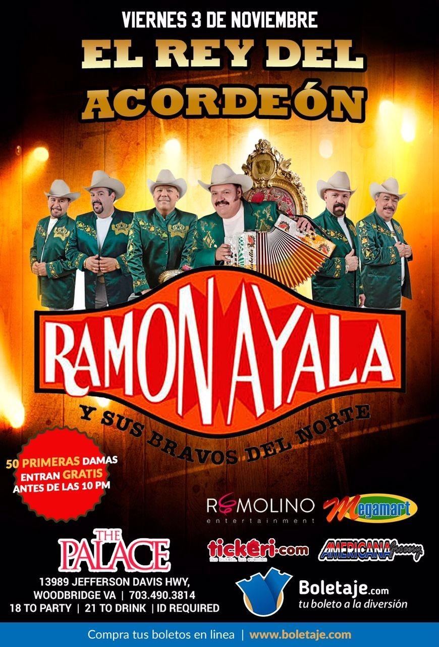 Ramon Ayala en Woodbridge VA @ The Palace  | Woodbridge | Virginia | United States