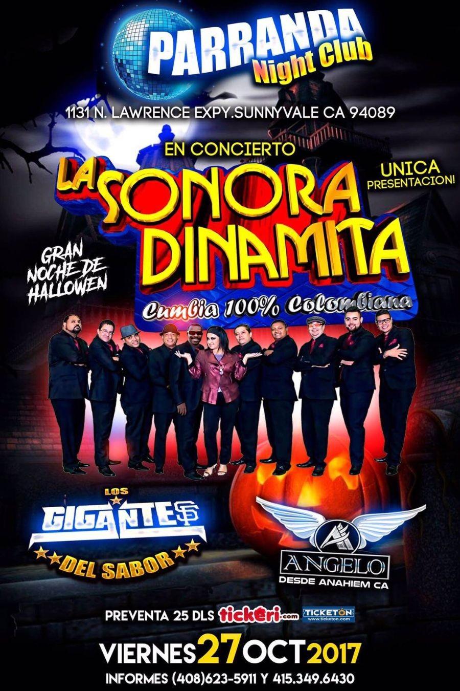 La Sonora Dinamita en Sunnyvale @ Parranda  | Sunnyvale | California | United States