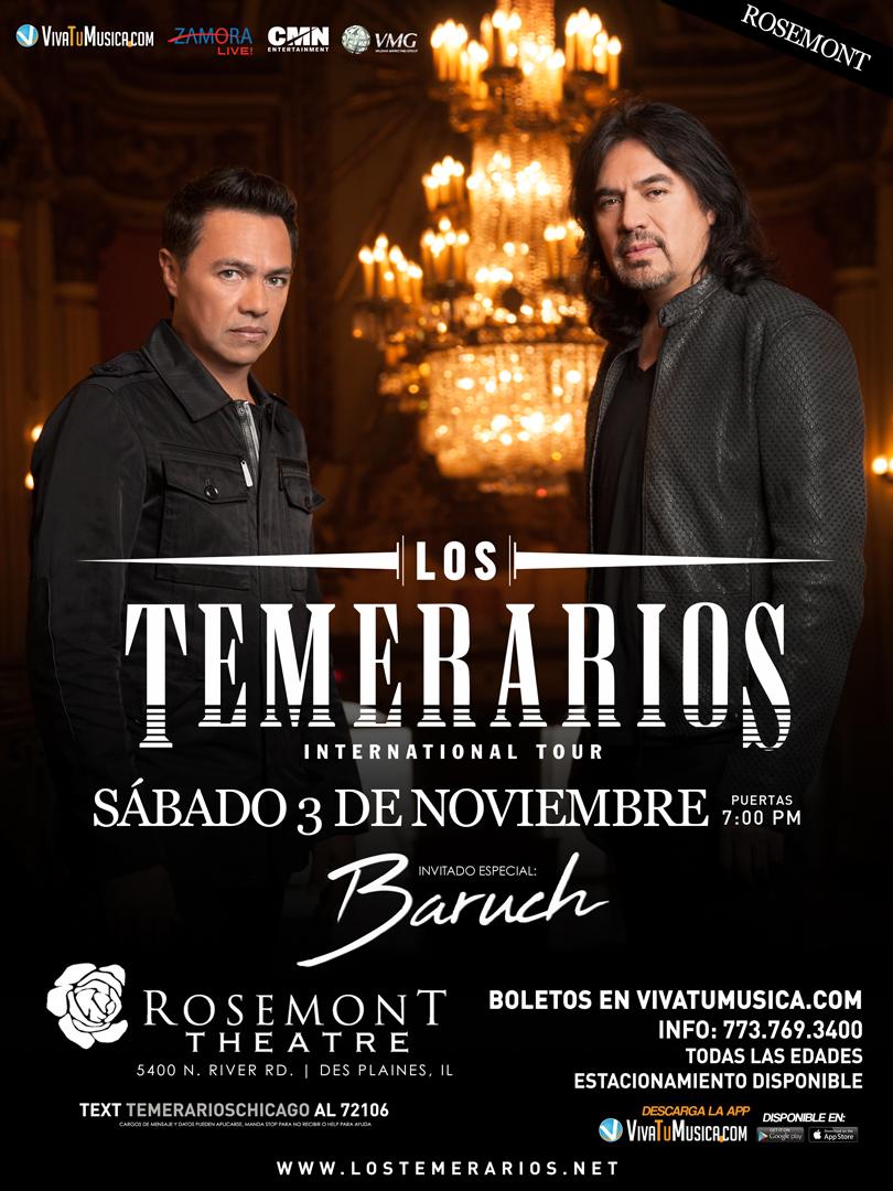 Los Temerarios – Rosemont Theatre @ ROSEMONT THEATER | Rosemont | Illinois | United States