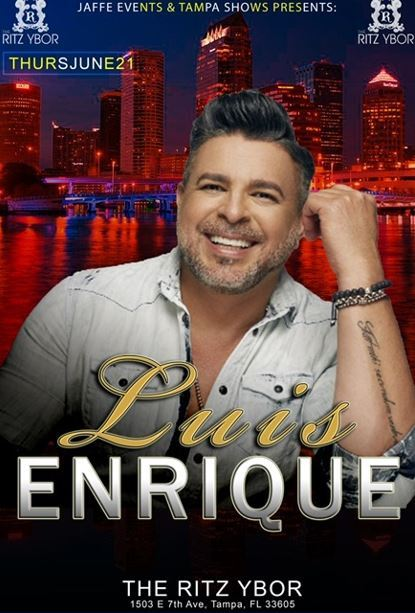 LUIS ENRIQUE @ The Ritz Ybor  | Tampa | Florida | United States