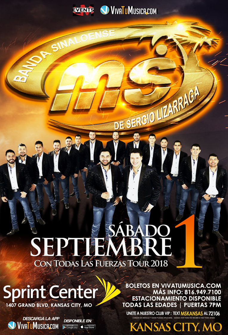 Banda MS – Kansas City, MO @ Sprint Center  | Kansas City | Missouri | United States