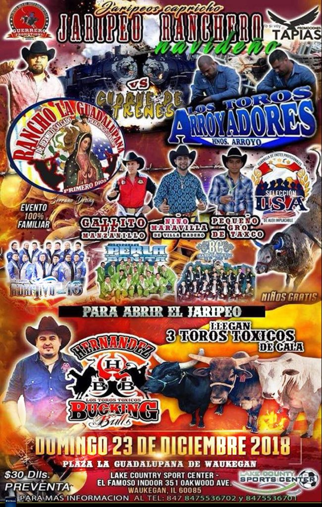 Jaripeo Navideño – Lake County Sports Center