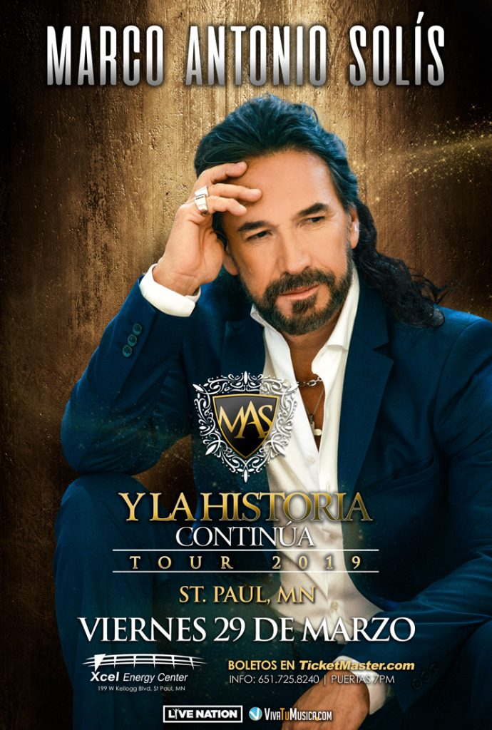 Marco Antonio Solis – Miniapolis @ Xcel Energy Center