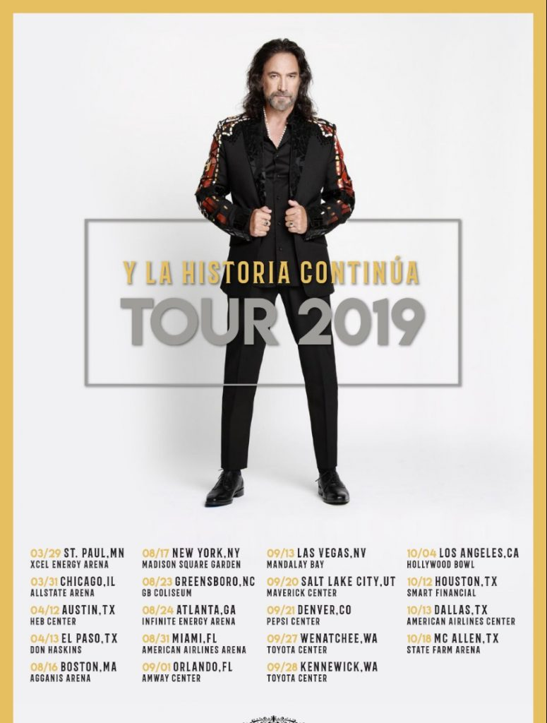 Marco Antonio Solis Tour 2019 @ USA TOUR