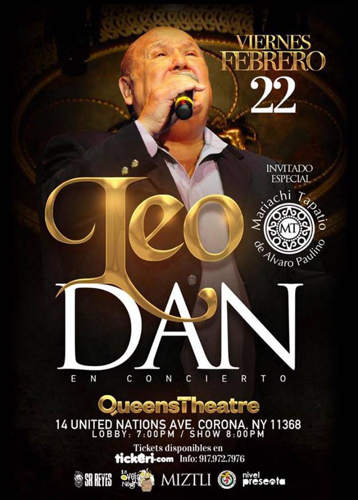 Leo Dan – Queens, NY @ Queens Theatre