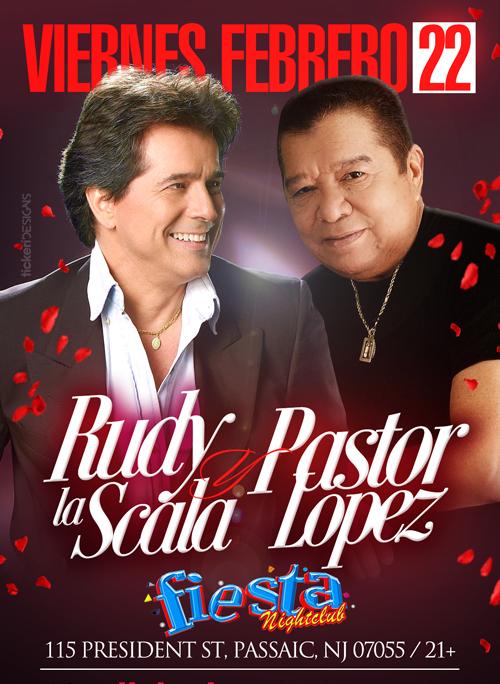 RUDY LA SCALA Y PASTOR LOPEZ EN NEW JERSEY @ Fiesta Night Club